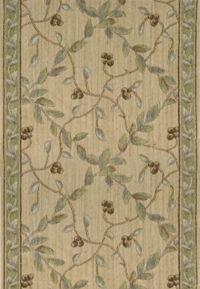 "Ashton House A02R Regal Vine Beech 2'3"" Wide Hall and Stair Runner"