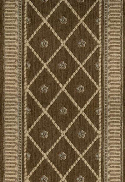 "Ashton House A03R Ashton Court Mink 2'3"" Wide Hall and Stair Runner"