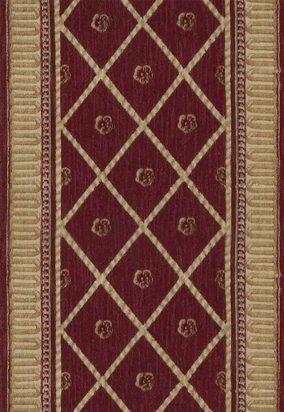 Ashton House A03R Ashton Court Sienna  3' Foot Wide Hall and Stair Runner