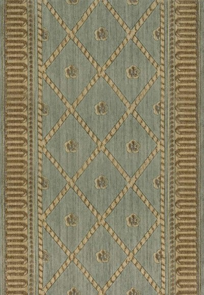 Ashton House A03R Ashton Court Surf  3' Foot Wide Hall and Stair Runner