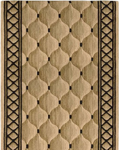 "Cosmopolitan C26R Shadowlure Beige 2'6"" Wide Hall and Stair Runner"