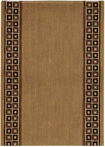 "Cosmopolitan C57R R71 Cosmo Rib Chesnut 2'6"" Wide Hall and Stair Runner"