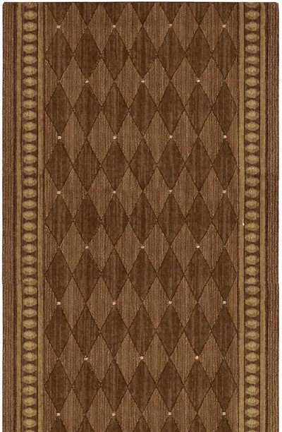 "Cosmopolitan C94R R43 Marquis Cocoa 2'6"" Wide Hall and Stair Runner"