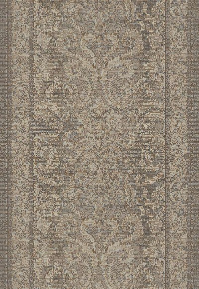 "Mysterio 1217-900 Grey 2'7"" Wide Hall and Stair Runner"