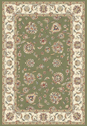 Ancient Garden 57365-4464 Green/Ivory (44 Green) Area Rug by Dynamic Rugs