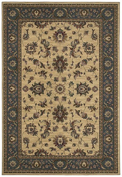 Ariana 311Z Ivory/Blue Area Rug by Oriental Weavers