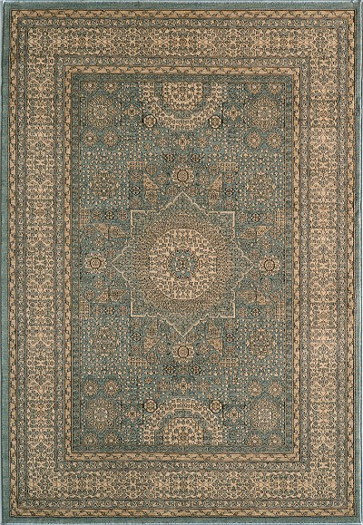 Momeni belmont be 03 light blue traditional area rug Belmont carpets and wood flooring