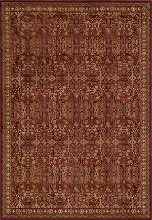 Belmont BE-07 Red Momeni Area Rug