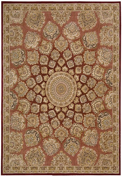 Nourison 2000 2318 Rose Area Rug by Nourison
