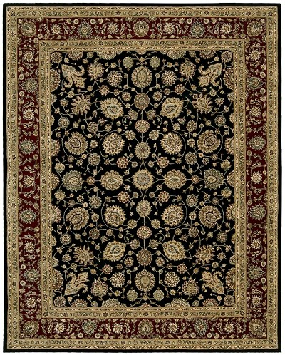 Nourison 2000 2017 Black Area Rug by Nourison