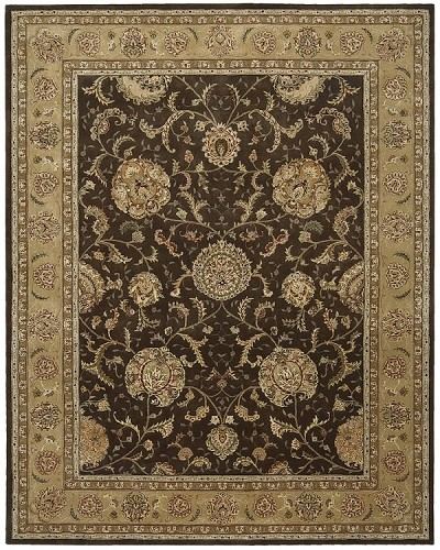 Nourison 2000 2206 Brown Area Rug by Nourison