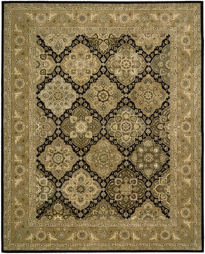 Nourison 2000 2211 Black Area Rug by Nourison