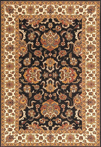 "Momeni Persian Garden PG-14 Charcoal 8'0"" X 10'0"" Area Rug - LAST ONE!"