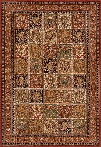"Momeni Persian Garden PG-15 Multi 8'0"" X 10'0"" Area Rug - LAST ONE!"