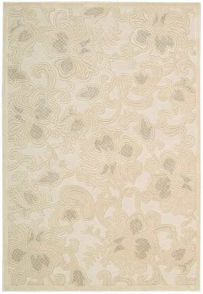 Nourison Graphic Illusions GIL02 Creme Area Rug