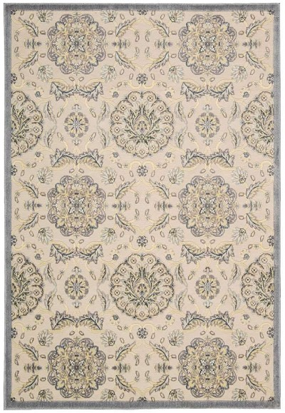 Nourison Graphic Illusions GIL12 Ivory Area Rug