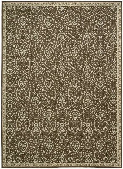 Riviera  RI02 Chocolate Area Rug by Nourison