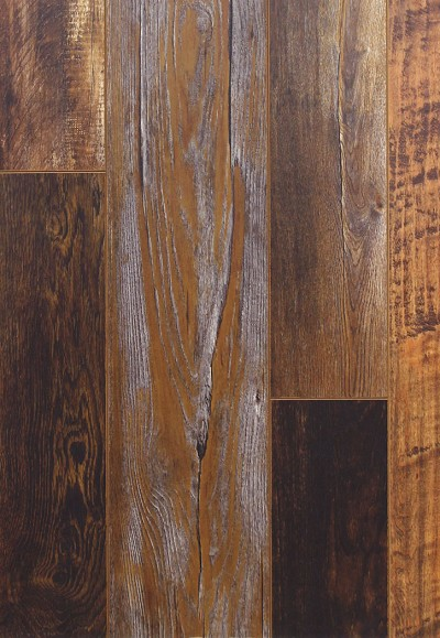 Architectural Remnants L6626 Wood Brown Laminate Flooring By