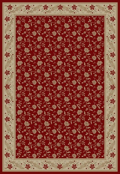 "Concord Global Trading Imperial 1130 Red 7'10"" X 10'10"" Area Rug"