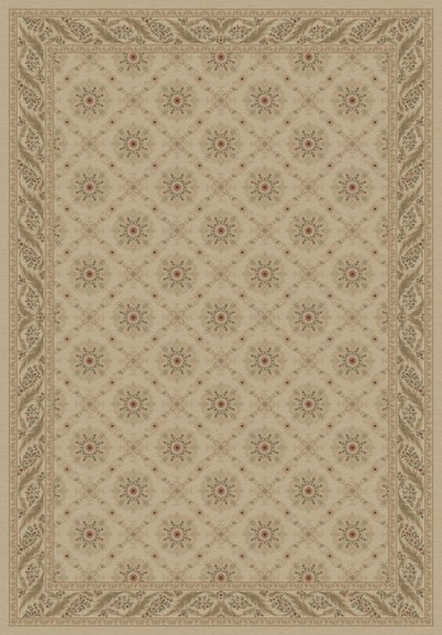 "Concord Global Trading Imperial 1172 Ivory 5'3"" X 7'7"" Area Rug"