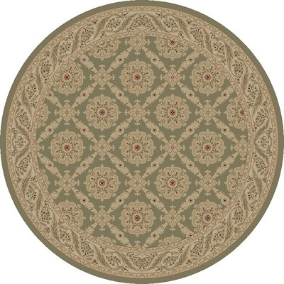 "Concord Global Trading Imperial 1176 Grey 7'10"" Round Area Rug"
