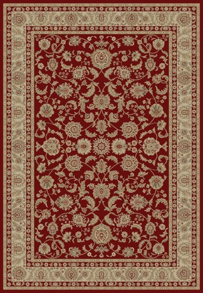 "Concord Global Trading Imperial 1190 Red 6'7"" X 9'6"" Area Rug"
