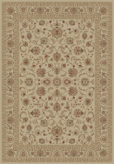 "Concord Global Trading Imperial 1192 Ivory 7'10"" X 10'10"" Area Rug"