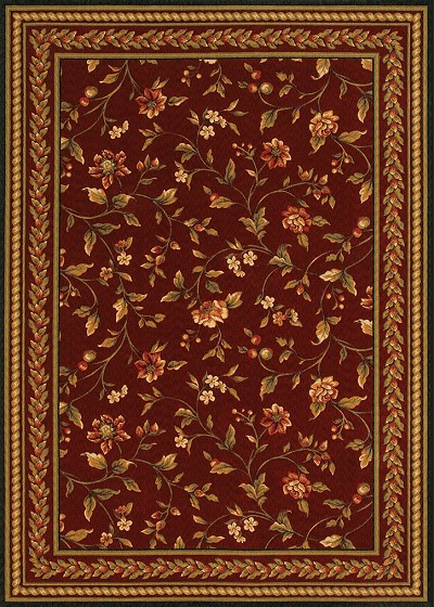 "Couristan Royal Luxury 1327/0002 Bordeu 7'10"" X 11'2"" Area Rug - LAST ONE!"