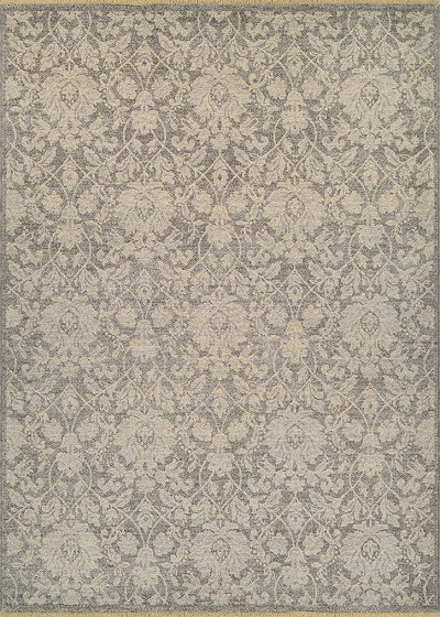 "Couristan Elegance 4555/0600 Grey 6'6"" X 9'8"" Area Rug - LAST ONE!"