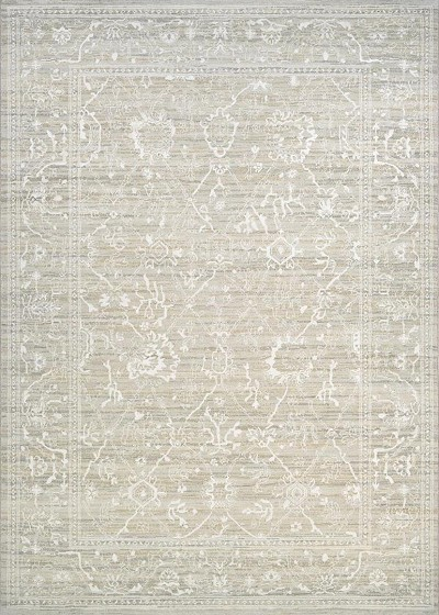 Couristan Everest 6340/7565 Persian Arabesque Bone Area Rug
