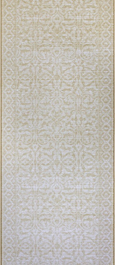 "Couristan Marina CB11-4001A Ibiza Champagne 2'2"" (26"") Wide Hall and Stair Runner"