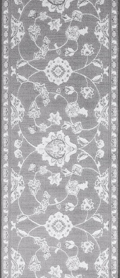 "Couristan Murano CB15-B002A Oyster 2'7"" (31"") Wide Hall and Stair Runner"