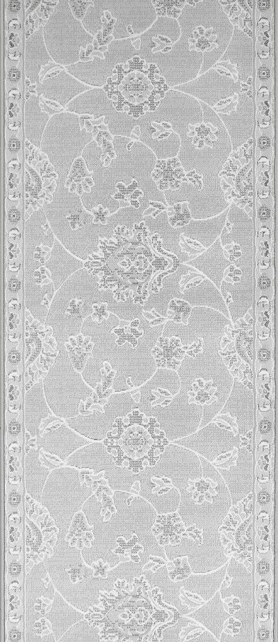 "Couristan Murano CB15-0003A Pearl 2'2"" (26"") Wide Hall and Stair Runner"