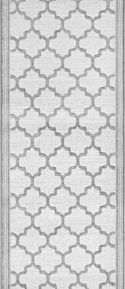 "Couristan Marina CB91-B002A Majorca Oyster 2'7"" (31"") Wide Hall and Stair Runner"