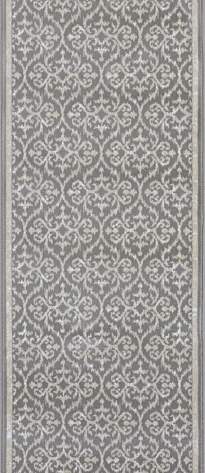 "Couristan Ansel CBK0-0003A Platinum 2'2"" (26"") Wide Hall and Stair Runner"