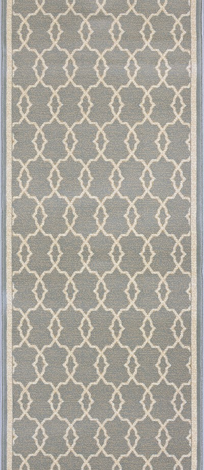 "Couristan Dakota CBK1-0003A Platinum 2'2"" (26"") Wide Hall and Stair Runner"