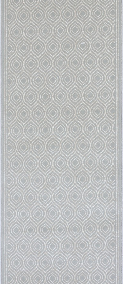 "Couristan Maeve CBK4-B001A Seafoam 2'7"" (31"") Wide Hall and Stair Runner"
