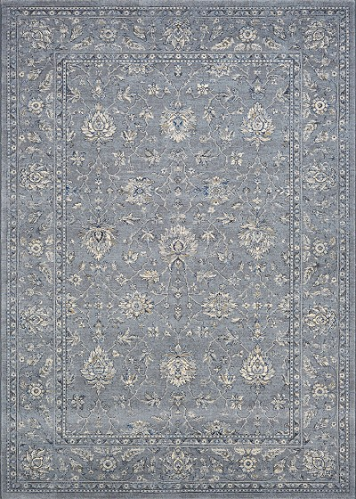 Couristan Sultan Treasures 7142/4646 All Over Mashad/Slate Blue Area Rug