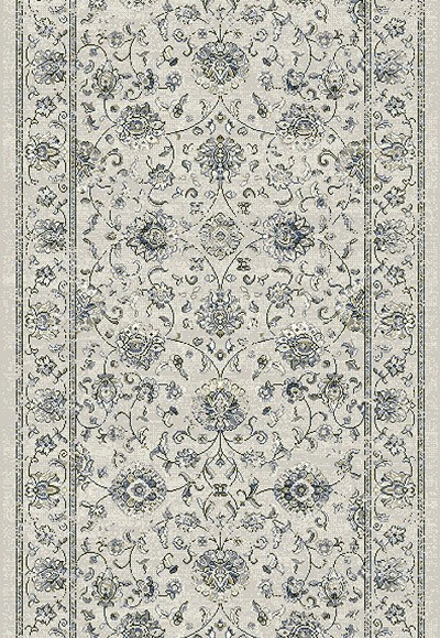 "Ancient Garden 57126-6666 Cream 2'2"" Wide Hall and Stair Runner"