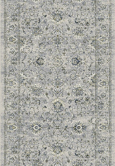 "Ancient Garden 57126-9696 Silver/Grey 2'2"" Wide Hall and Stair Runner"