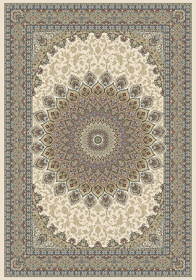 Dynamic Rugs Ancient Garden 57090-6484 Ivory Area Rug