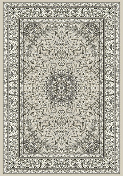 Dynamic Rugs Ancient Garden 57119-9666 Soft Grey/Cream Area Rug