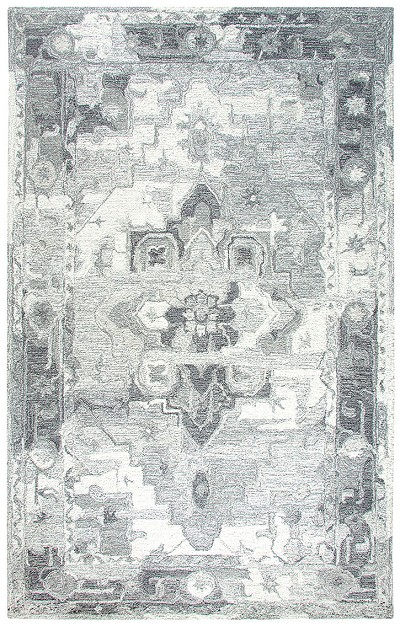 Dynamic Rugs Avalon 88801-119 Silver Ivory Area Rug