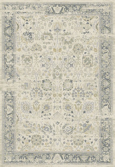 Dynamic Rugs Essence 55870-190 Ivory Light Grey Area Rug