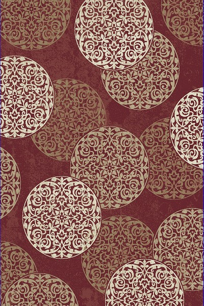 Dynamic Rugs Melody 985014-339 Red Area Rug