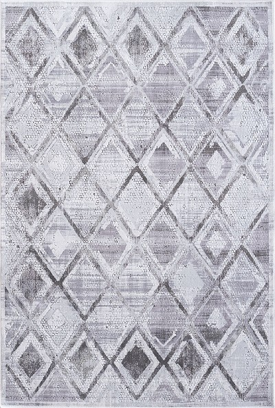 Dynamic Rugs Mosaic 1666-190 Grey/Cream Area Rug