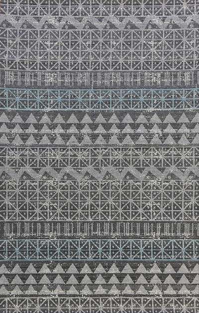 Dynamic Rugs Oracle 2142-905 Grey/Blue Area Rug