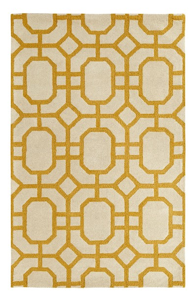 Dynamic Rugs Palace 5599-707 Ivory Yellow Area Rug