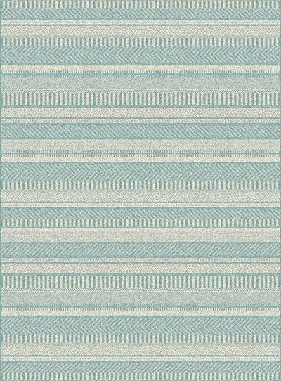 Dynamic Rugs Piazza 4809-5409 Blue Area Rug