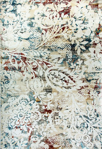Dynamic Rugs Prism 4437-109 Ivory Multi Area Rug